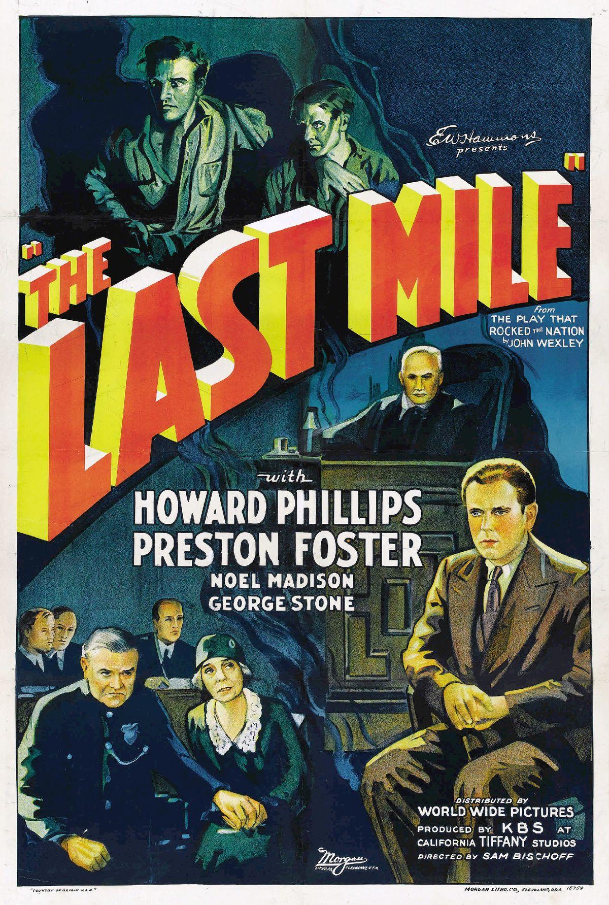 The Last Mile 1932 film  Wikipedia