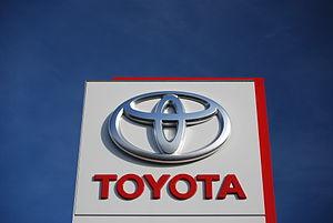 Česky: logo firmy Toyota