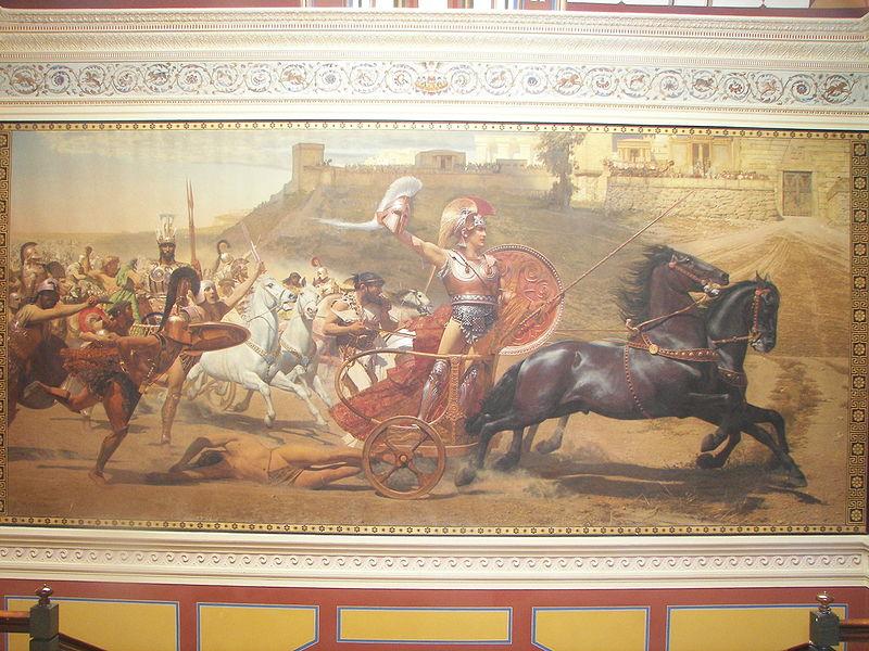 Αρχείο:Triumphant Achilles in Achilleion.jpg