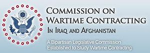 Logo of the Commission on Wartime Contracting ...