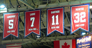 English: Four banners for the the Washington C...