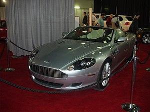 2006 Aston Martin DB9 Volante, taken at the Va...