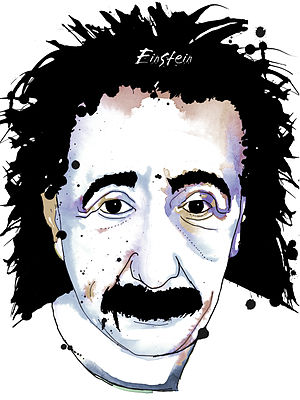 English: Einstein