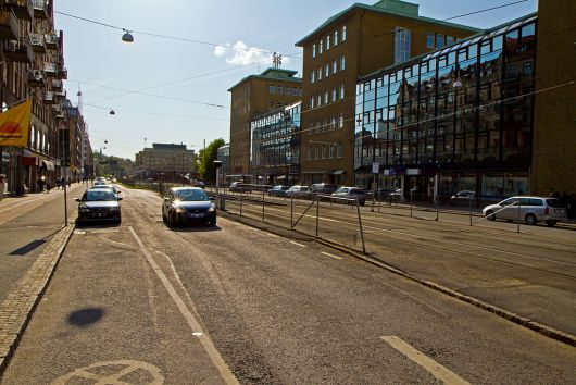 Första Långgatan med Elof Hansson. 2011.