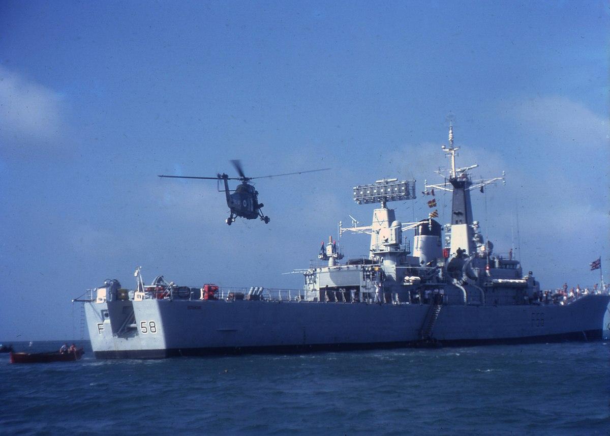 HMS Hermione F58  Wikipedia