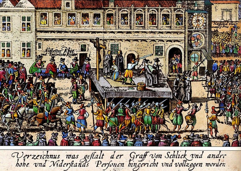 Ejecución por decapitación de los 27 nobles de Praga