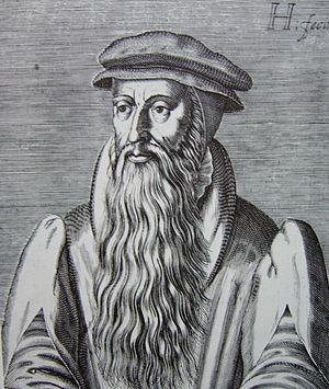 English: John Knox woodcut