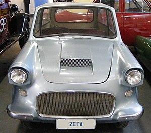 Picture of a Lightburn Zeta Sedan, on display ...