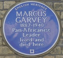 Blue plaque, 53 Talgarth Road, London