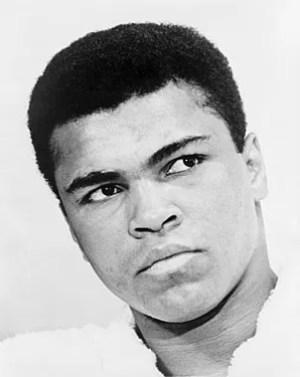 English: Bust portrait of Muhammad Ali, World ...