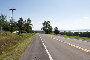 English: A photograph of New York State Route ...