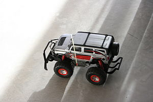 Remote/Radio Control car (actually a Hummer)