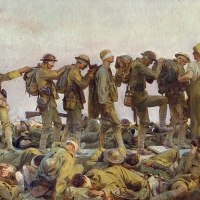 """Gassed"" by John Singer Sargent"