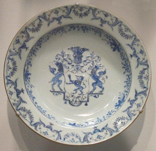 Chinese Hard Paste Porcelain