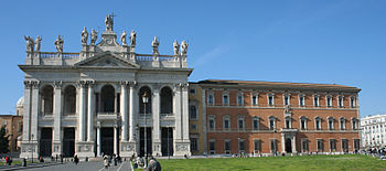English: Basilica and Palace of St John Latera...