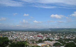 Vista del Centro Urbano de la Ciudad de Poza R...