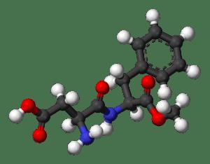 Aspartame-3D-balls