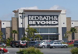 A Bed Bath and Beyond store in a shopping cent...
