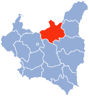 Location of Białystok