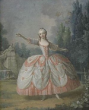 English: Dancing girl in a park