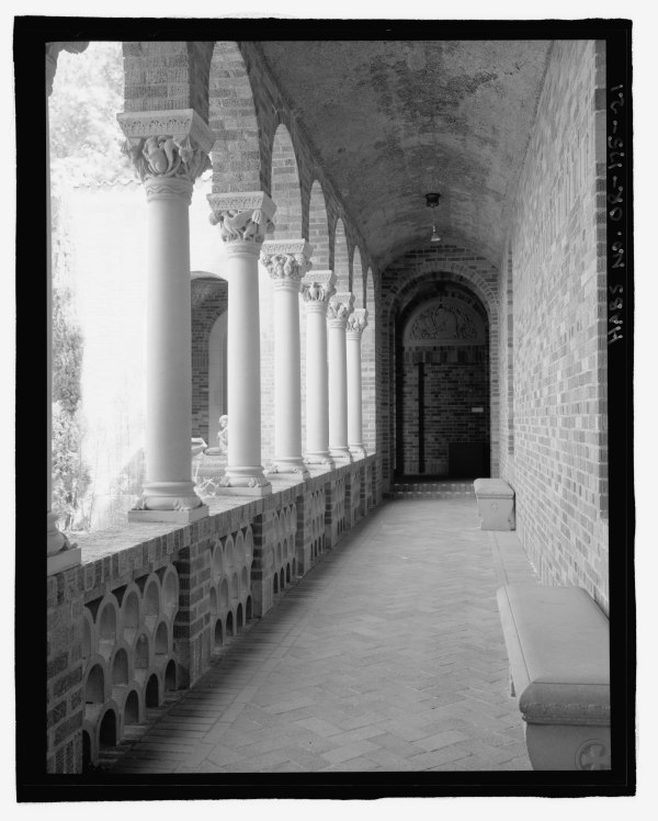 File Detail View Of .l. Campbell Memorial Courtyard