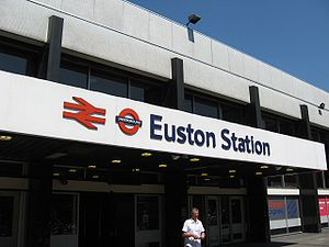 English: Euston Station