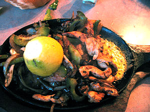 Chicken Fajitas at Ricardo's El Ranchito