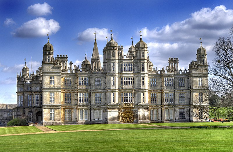 File:Front of Burghley House 2009.jpg