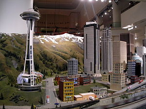 """""""The Great Train Story"""" exhibit in t..."""