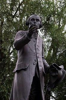 Immanuel Kant Denkmal In Konigsberg