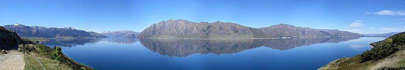 File:Lake Hawea panorama.jpg