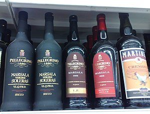 "English: ""Marsala"" fortified wine, f..."