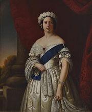 La reine Victoria en 1845