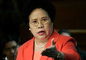 English: Senator Miriam Defensor Santiago