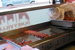 English: New York System Weiners. Olneyville N...