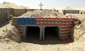 Patriotic Bunker in Iraq DM-SD-05-02036