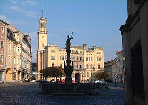 Town Hall Zittau, Saxony, Germany
