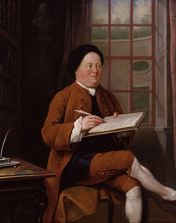Samuel Richardson, by Mason Chamberlin (died 1...