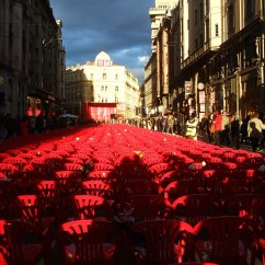 Red Chairs Sarajevo Fold Up Rocking Lawn Chair Line Wikipedia