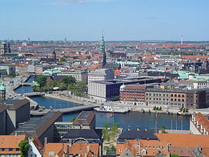 Copenhagen, the capital of Denmark