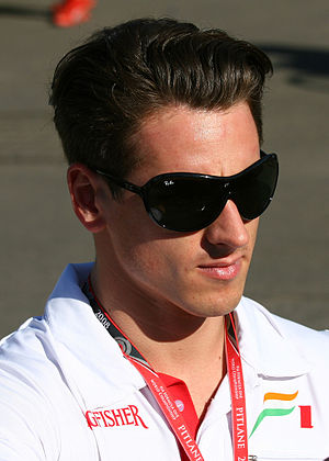 Adrian Sutil at the 2008 Australian Grand Prix.