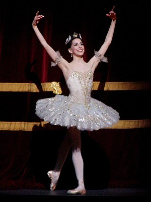 English: Alexandra Ansanelli as Aurora in the ...