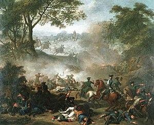Battle of Lesnaya by Jean-Marc Nattier, 1717