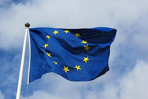 European flag in Karlskrona 2011