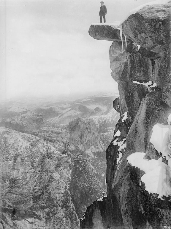 File Galen Clark On Glacier Point In Yosemite National