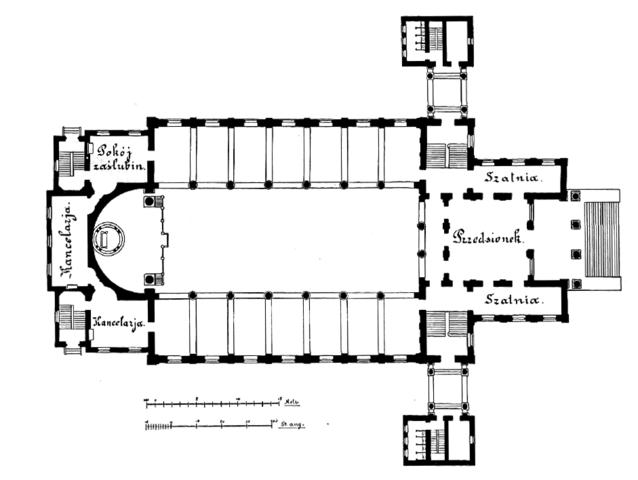 basilica plan diagram