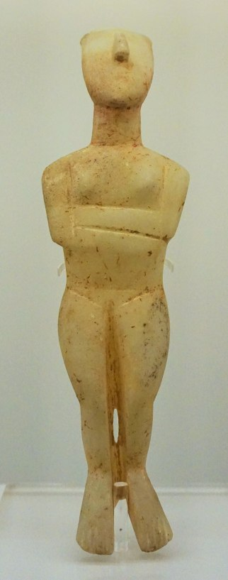 Hellenic Museum, Melbourne - Joy of Museums - Cycladic Figurine