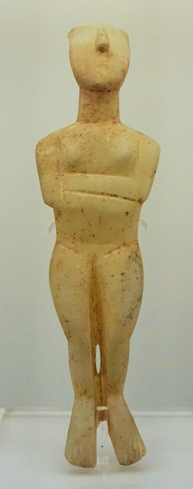 Hellenic Museum, Melbourne - Joy of Museums - Cycladic Figurine