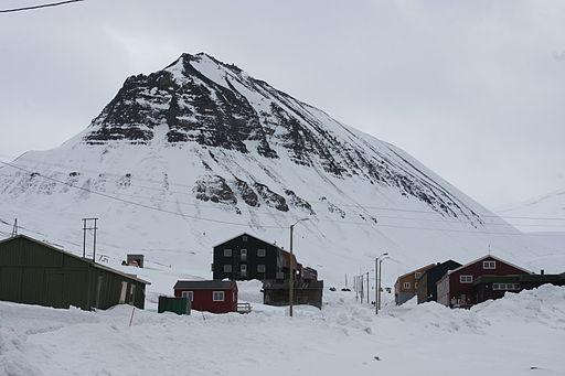 Longyearbyen Nybyen Sarkofagen IMG 2949
