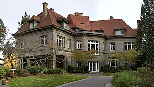 English: Pittock Mansion in Portland, Oregon, ...